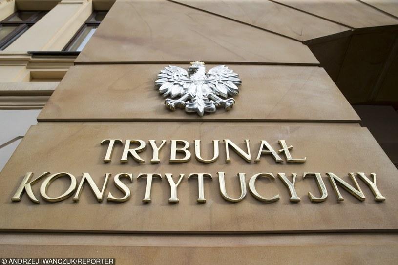 Trybunał Konstytucyjny, zdj. ilustracyjne /Andrzej Iwańczuk/Reporter /East News