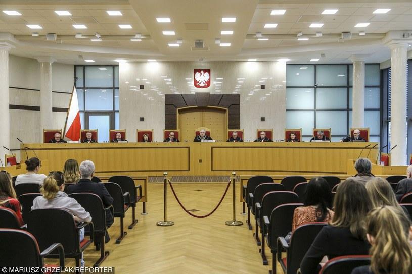 Trybunał Konstytucyjny, zdj. ilustracyjne /Mariusz Grzelak /Reporter