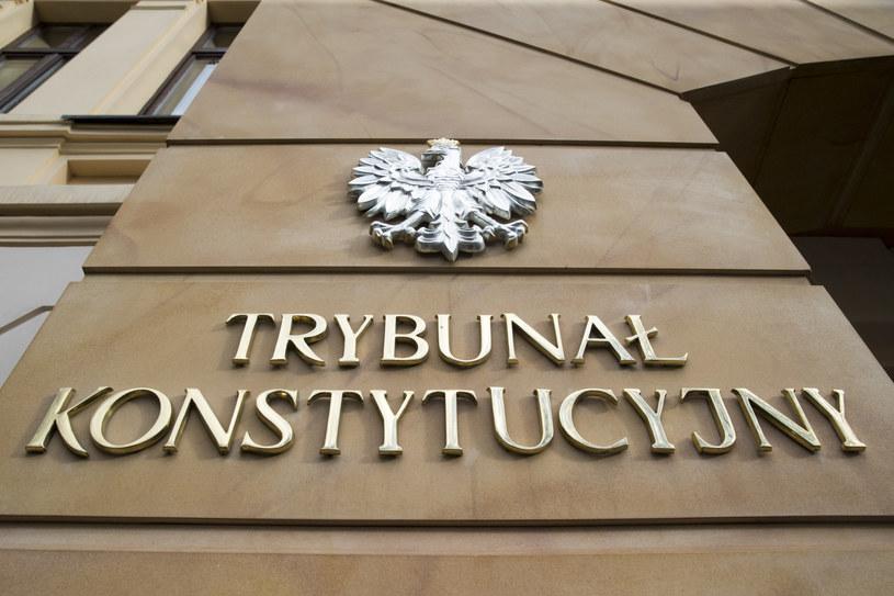 Trybunał Konstytucyjny /fot. Andrzej Iwanczuk /Reporter