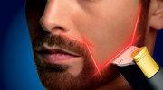 Trymer do brody z prowadnicą laserową