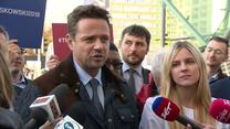 Trzaskowski krytycznie o rezygnacji P. Jakiego z członkostwa w partii