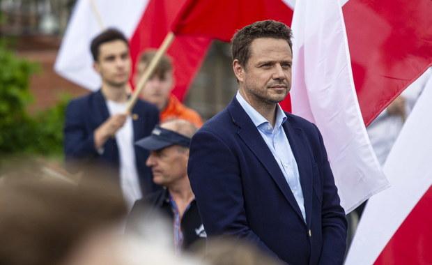 Trzaskowski: Polska potrzebuje odbudowy. Mam na to plan