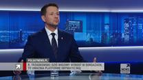 """Trzaskowski w """"Gościu Wydarzeń"""": Polski Ład to pułapka"""
