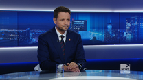 """Trzaskowski w """"Gościu Wydarzeń"""": Tomczyk był lepszym szefem klubu niż Budka"""