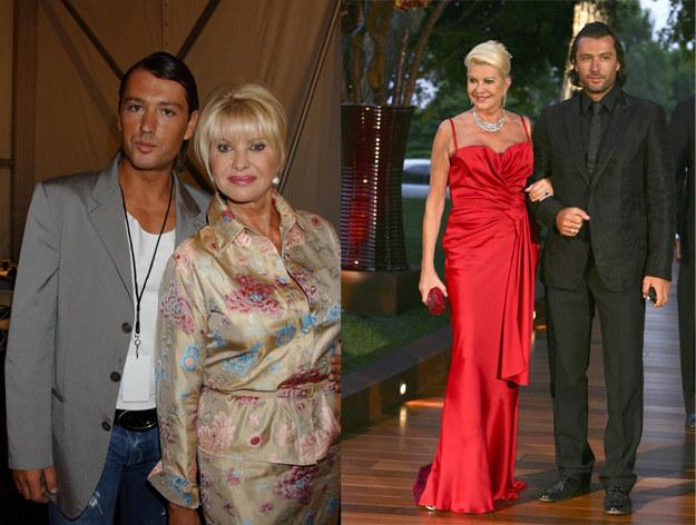 Trzeba przyznać, że Ivana z mężem tworzyli dość oryginalną parę /East News