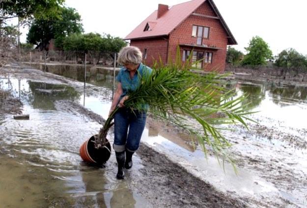 Trzeba wypompować wodę z pozostałych na ulicach zastoisk, z piwnic i domów/fot. Piotr Polak /INTERIA.PL/PAP