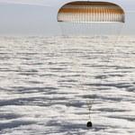 Trzech członków załogi ISS powróciło na Ziemię [ZDJĘCIA]
