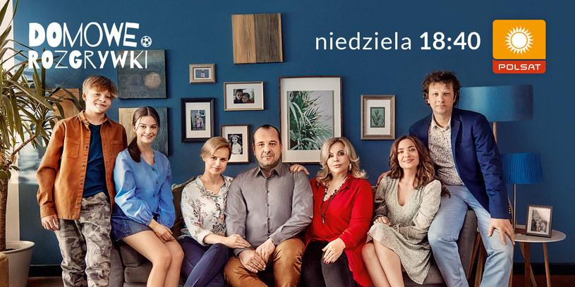 """Trzeci sezon """"Domowych rozgrywek"""" zadebiutuje na antenie Polsatu 11 kwietnia /Polsat"""