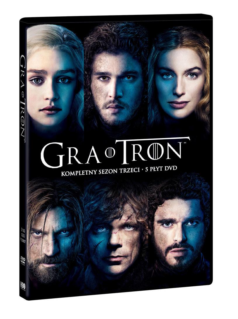 """Trzeci sezon """"Gry o tron"""" na Blu-ray i DVD! /materiały prasowe"""
