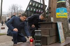 Trzecia rocznica Euromajdanu. Ukraińcy wspominają tragiczne wydarzenia