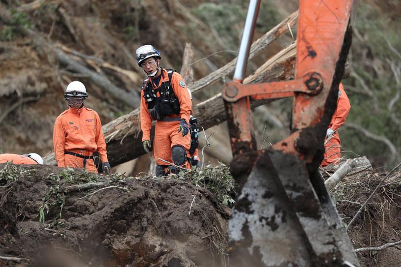 Trzęsienie, do którego doszło o godz. 8:58 czasu miejscowego (godz. 00:58 w Polsce), nawiedziło region, który był areną potężnych wstrząsów o magnitudzie 6,7 w dniu 6 września, na zdjęciu usuwanie szkód po wrześniowym kataklizmie /AFP