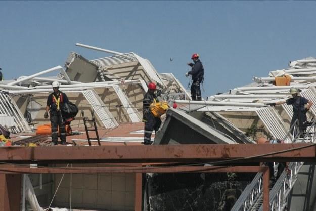 Trzęsienie miało siłę 8,8 w skali Richtera /AFP