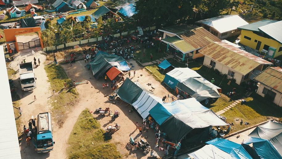 Trzęsienie ziemi na Filipinach /CERILO EBRANO  /PAP/EPA