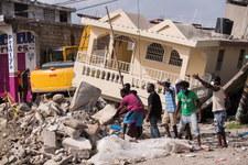 Trzęsienie ziemi na Haiti. Rośnie liczba ofiar