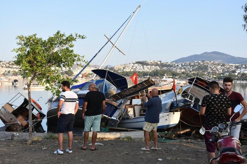 Trzęsienie ziemi na Kos /ALI BALLI /PAP
