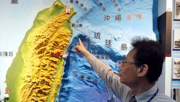 Trzęsienie ziemi na Tajwanie /DAVID CHANG  /PAP/EPA