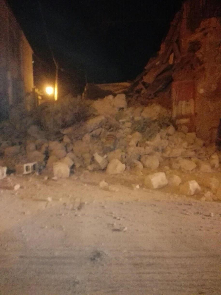 Trzęsienie ziemi na wyspie Ischia /SERENELLA MATTERA /PAP/EPA