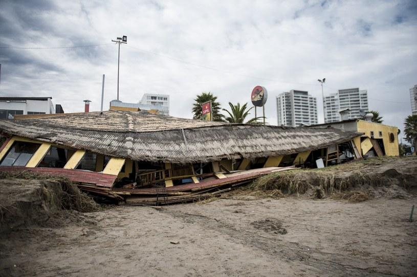 Trzęsienie ziemi o sile 6,4 stopni nawiedziło Chile /Martin Bernetti /AFP