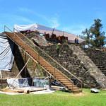 Trzęsienie ziemi ujawniło dwie azteckie świątynie