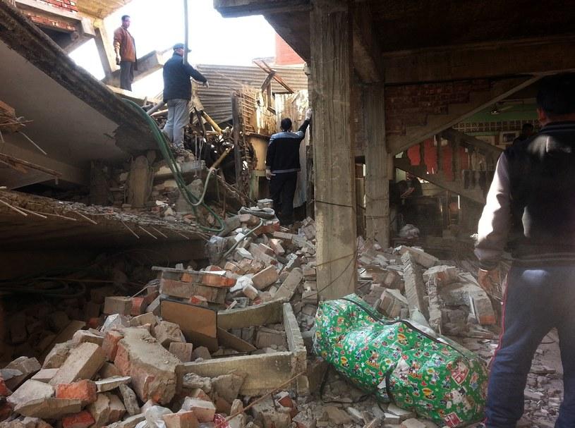 Trzęsienie ziemi w Azji Południowej /AFP