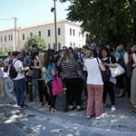 Trzęsienie ziemi w Grecji. W Atenach ludzie w panice uciekali z budynków