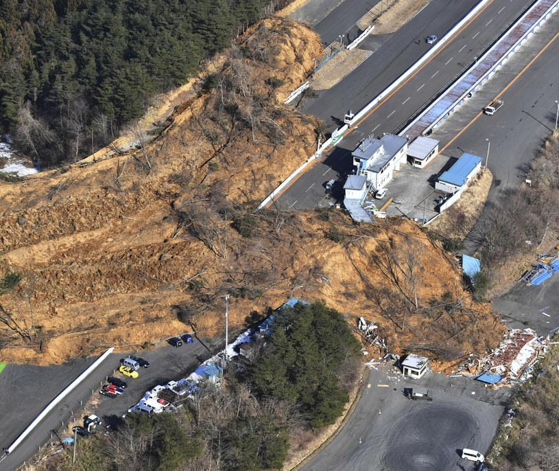 Trzęsienie ziemi w Japonii /YOMIURI SHIMBUN /East News