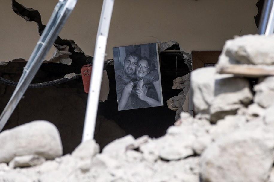 Trzęsienie ziemi we Włoszech /EPA/ANGELO CARCONI /PAP/EPA