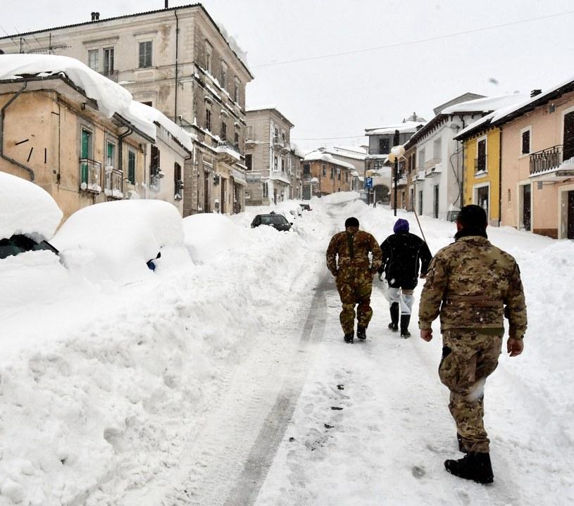 Trzęsienie ziemi we Włoszech /CLAUDIO LATTANZIO /PAP/EPA