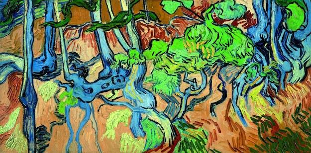 """Trzy korzenie"" pędzla Vincenta van Gogha /VAN GOGH MUSEUM /PAP/EPA"