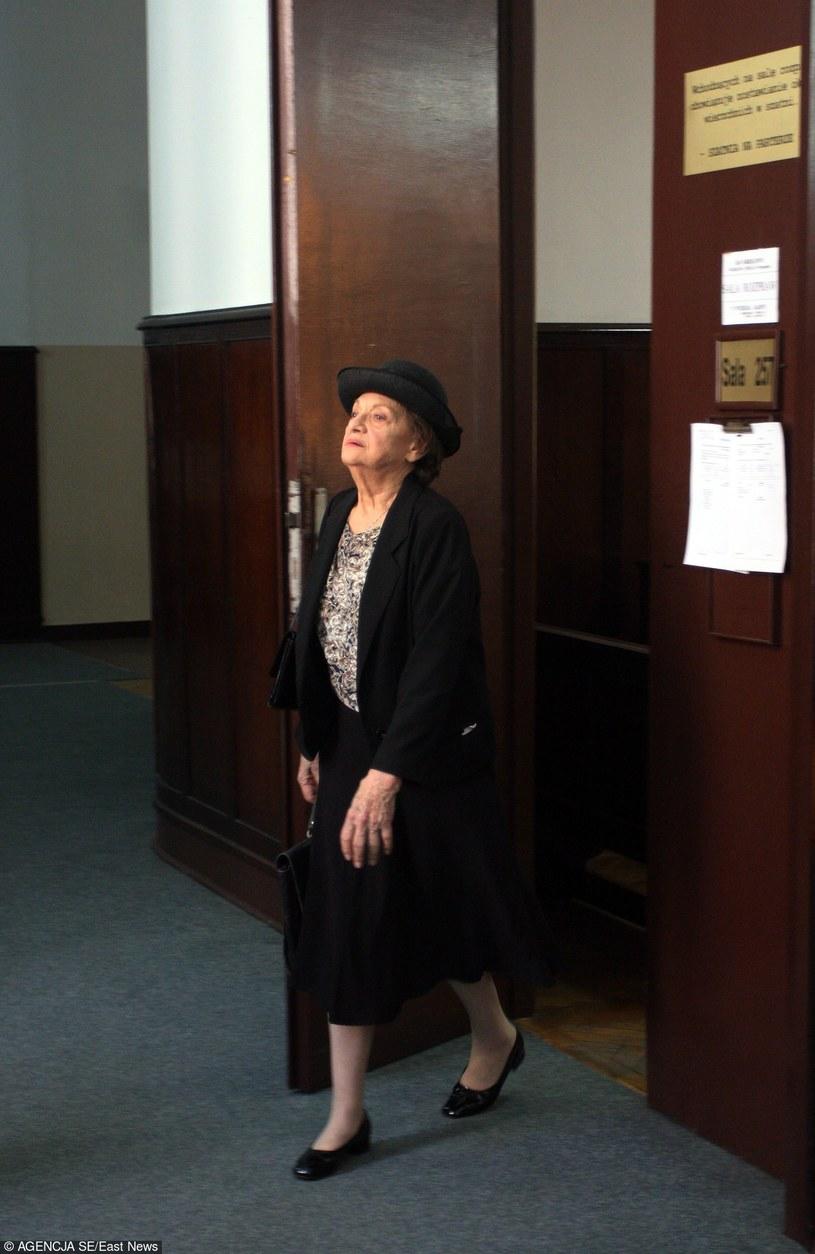 Trzy lata temu sąd uznał, że Irena Dziedzic nie była tajnym współpracownikiem Służby Bezpieczeństwa /Mariusz Grzelak /East News