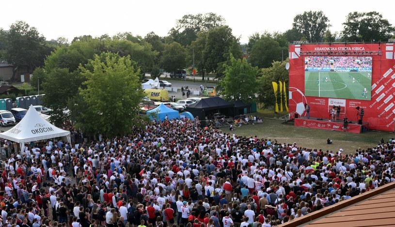Trzy lata temu w trakcie Mundialu w Krakowie można było zobaczyć mecz w strefie kibica. Czy tak będzie i w tym roku? /Marek Lasyk/REPORTER  /East News