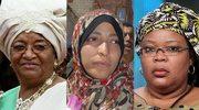 Trzy laureatki Pokojowej Nagrody Nobla