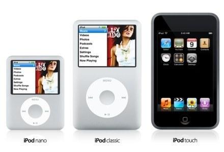 Trzy nowe iPody /materiały prasowe