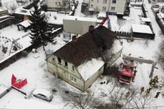 Trzy osoby zginęły w pożarze domu w Międzychodzie