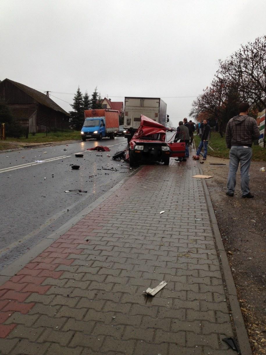 Trzy osoby zginęły w wypadku w Izdebniku /Janusz /Gorąca Linia RMF FM
