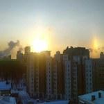 Trzy słońca w Jekaterynburgu! Zobacz wyjątkowe złudzenie optyczne