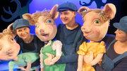 """""""Trzy świnki"""" na teatralnych deskach: Aktorzy Groteski zagrali specjalnie dla słuchaczy RMF FM!"""