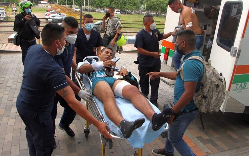 Trzydzieści sześć osób zostało rannych. Trzy z nich ciężko /Mario Caicedo /PAP/EPA