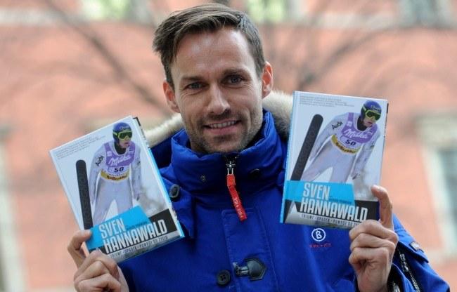 Trzykrotny medalista olimpijski w skokach narciarskich Sven Hannawald /Bartłomiej Zborowski /PAP