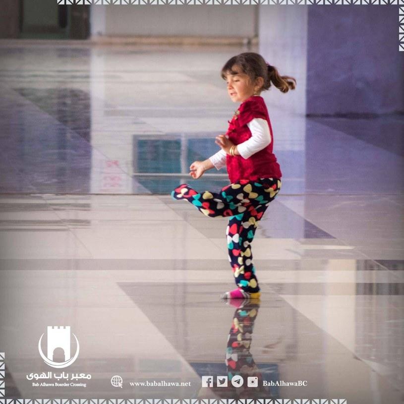 Trzyletnia Maysa Alhaj z Syrii /Polska Misja Medyczna /