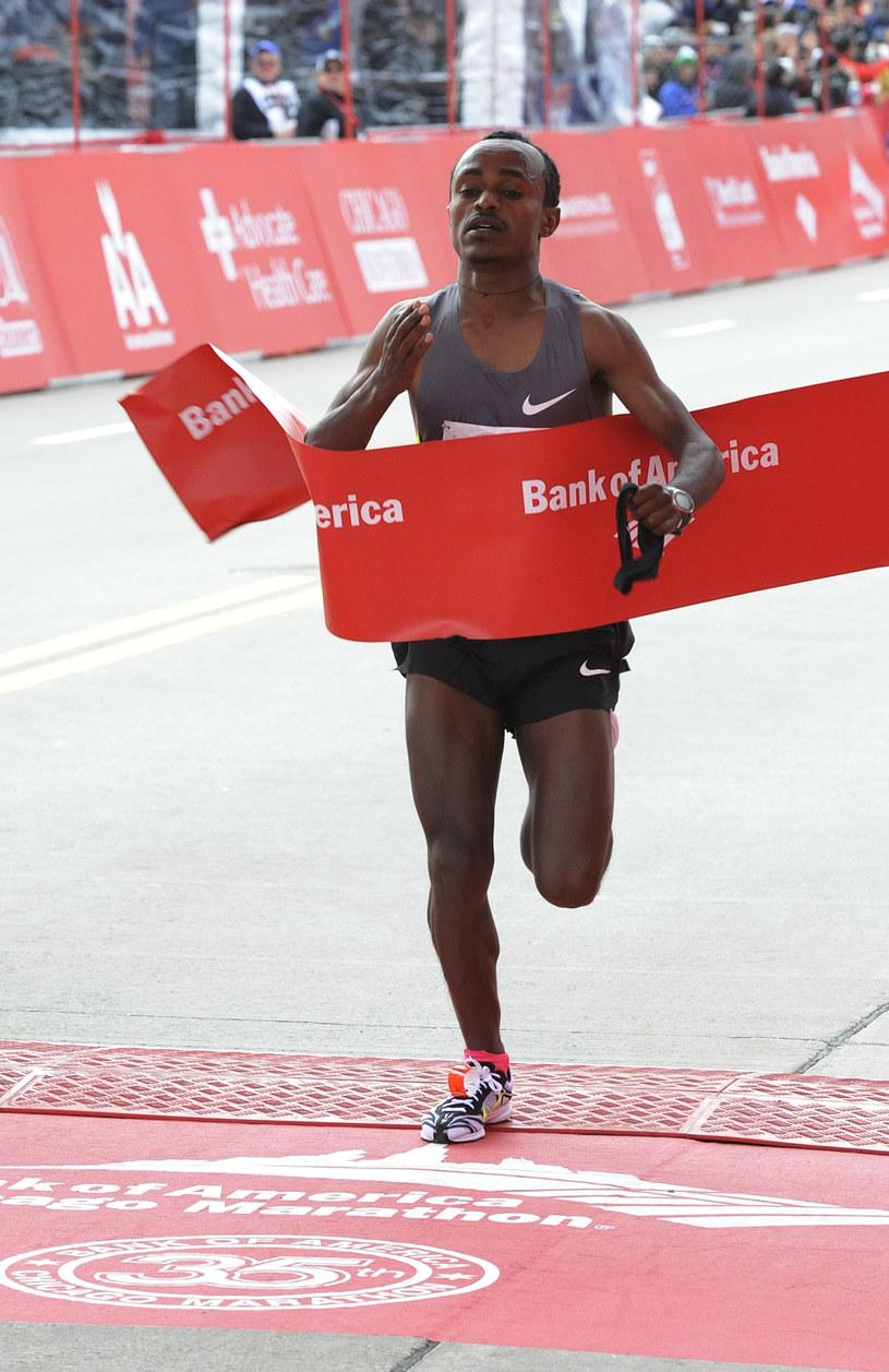 Tsegaye Kebede wygrał przed rokiem /David Banks /Getty Images