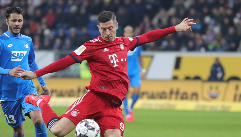 TSG Hoffenheim - Bayern Monachium 1-3 w 18. kolejce Bundesligi