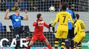 TSG Hoffenheim - Borussia Dortmund 2-2 w 15. kolejce Bundesligi