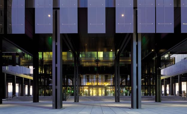 TSUE - wejście główne. Fot. G. Fessy CJUE /Informacja prasowa