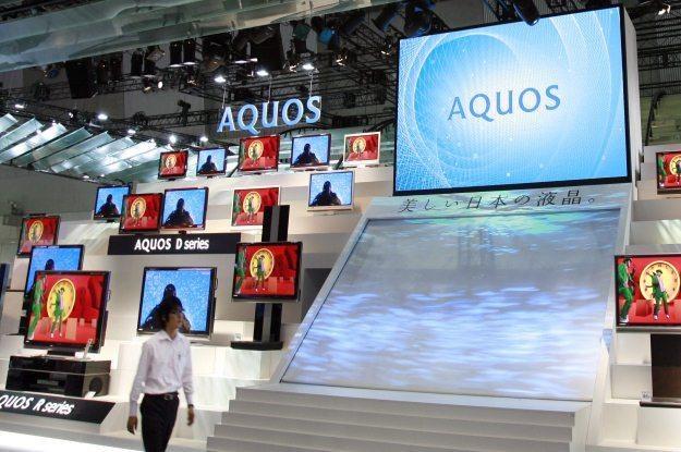 Tsunami skutecznie wstrzymało produkcję dużych paneli  LCD /AFP