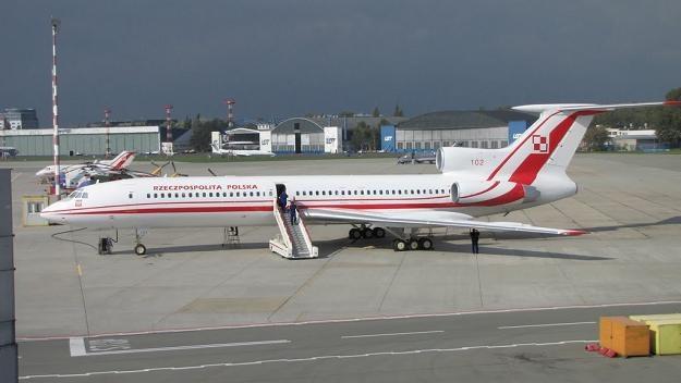 Tu-154 o numerze bocznym 102 /RMF