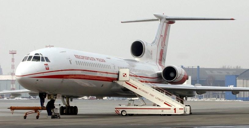 Tu-154M, który rozbił się w Smoleńsku /Michał Niwicz /Agencja SE/East News
