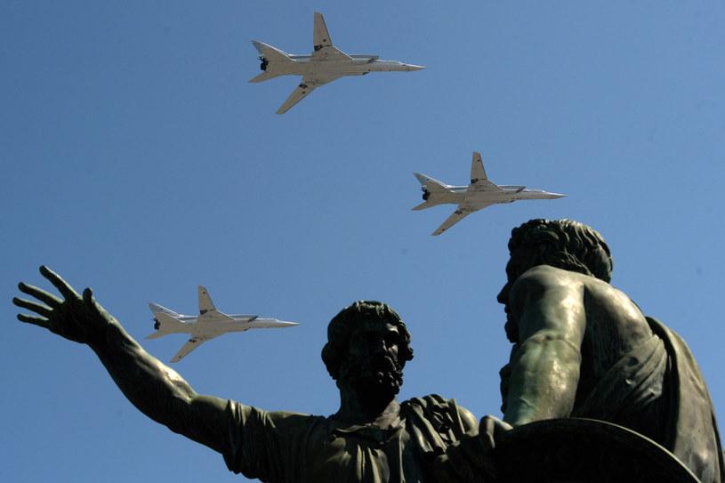 Tu-22M3, zdj. ilustracyjne /VASILY MAXIMOV /AFP