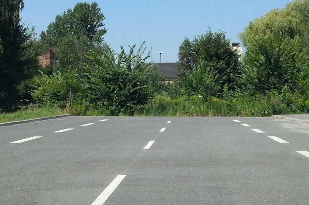Tu kończy się ulica Lema /INTERIA.PL