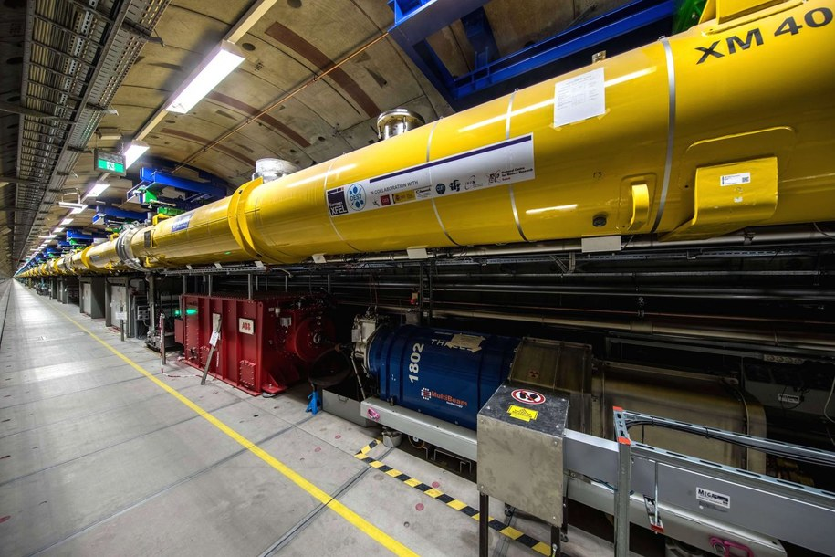 Tunel akcelera6tora /DESY/D. Nölle /materiały prasowe